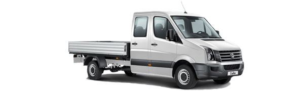 Modelo Volkswagen Comerciales Crafter Plataforma 4p Chasis Cabina Doble
