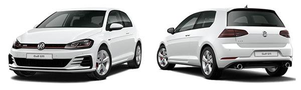 Modelo Volkswagen Golf 3p GTI