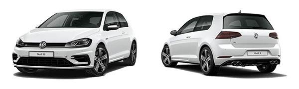 Modelo Volkswagen Golf 3p R