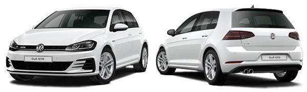 Modelo Volkswagen Golf 5p GTD