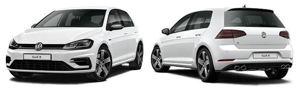Modelo Volkswagen Golf 5p R
