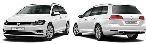 Modelo Volkswagen Golf Variant Sport