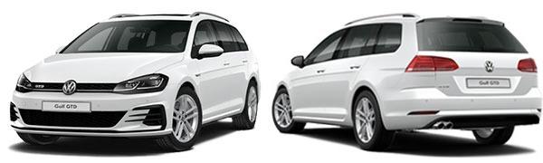 Modelo Volkswagen Golf Variant GTD