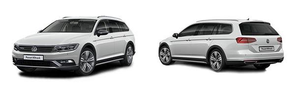Modelo Volkswagen Passat Variant Alltrack