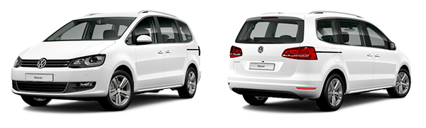 Modelo Volkswagen Sharan Advance