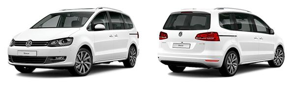 Modelo Volkswagen Sharan Sport