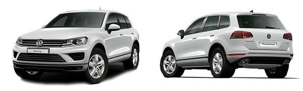 Modelo Volkswagen Touareg -