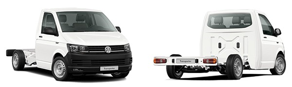 Modelo Volkswagen Comerciales Transporter Chasis Cabina Chasis CS