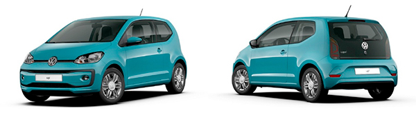 Modelo Volkswagen up! 3p High up!