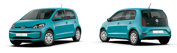 Modelo Volkswagen up! 5p Move up!