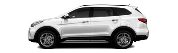 Model Hyundai Grand Santa Fe Style