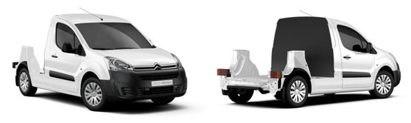 Modelo Citroën Berlingo Piso Cabina -