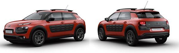 Modelo Citroën C4 Cactus Feel