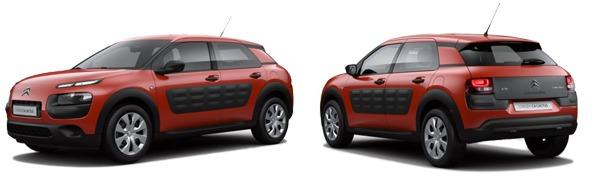 Modelo Citroën C4 Cactus Live