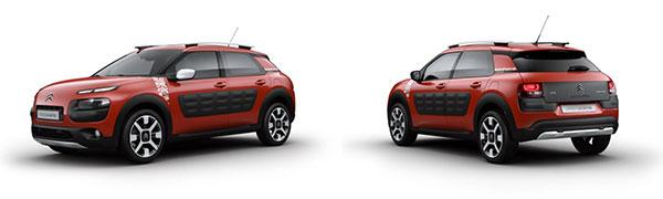 Modelo Citroën C4 Cactus Rip Curl