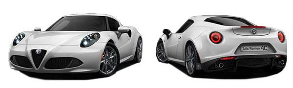 Modelo Alfa Romeo 4C -