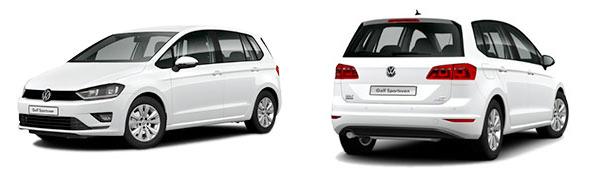 Modelo Volkswagen Golf Sportsvan Special Edition