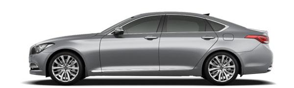 Modelo Hyundai Génesis -