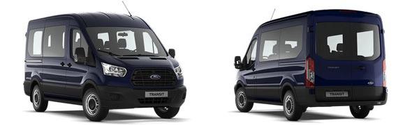 Modelo Ford Transit Kombi M1 Ambiente
