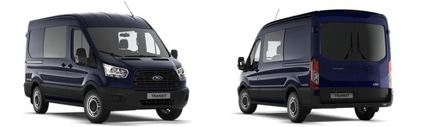 Modelo Ford Transit Mixta M1 Ambiente