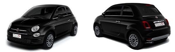 Modelo Fiat 500C Cabrio Lounge