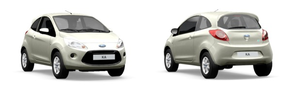 Modelo Ford Ka Trend+