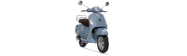 Modelo Vespa GTS 125 -