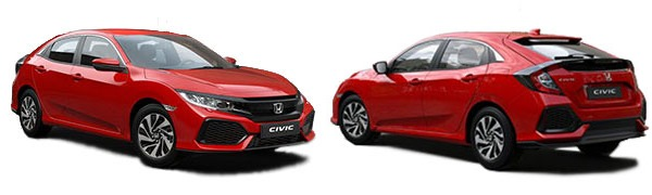 Modelo Honda Civic 5 puertas Comfort