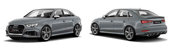 Modelo Audi RS3 Sedán -