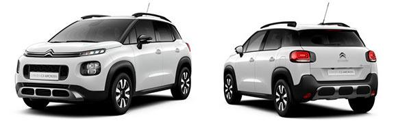Modelo Citroën C3 Aircross Shine