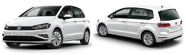 Modelo Volkswagen Nuevo Golf Sportsvan Edition