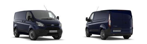 Modelo Ford Custom Van Ambiente