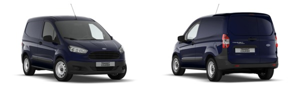 Modelo Ford Transit Courier Van Ambiente