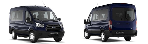 Modelo Ford Transit Bus Trend