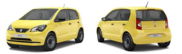 Model Seat Mii 5p Reference