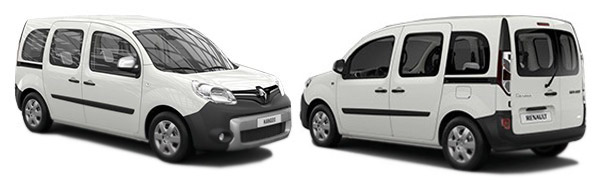 Modelo Renault Kangoo Combi 5p Emotion