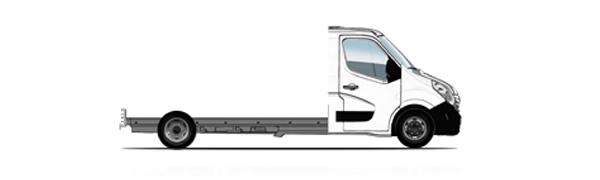 Modelo Renault Master Cabina Plataforma -