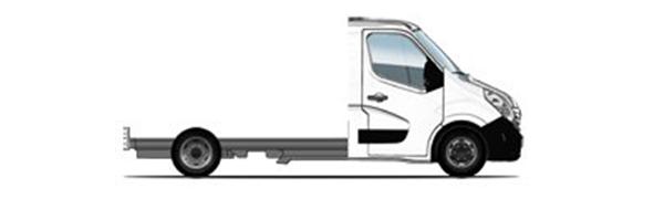 Modelo Renault Master Chasis Cabina -