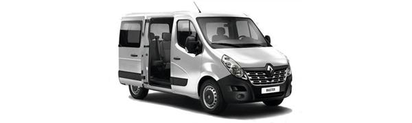 Modelo Renault Master Combi -