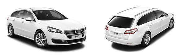 Modelo Peugeot 508 SW Active