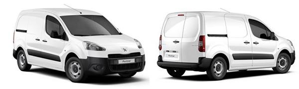 Modelo Peugeot Partner Furgón 3p Confort