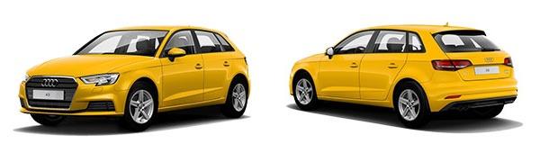 Modelo Audi A3 Sportback -