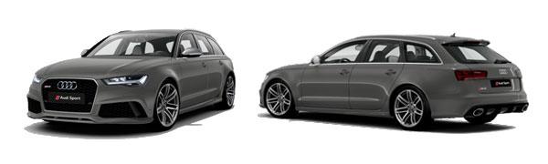 Modelo Audi RS6 Avant -